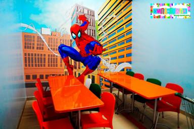 День рождения в стиле Человека-паука